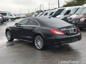 Mercedes Ls 550 2017 Mercedes Cls550 4matic Coupe Lease Staten