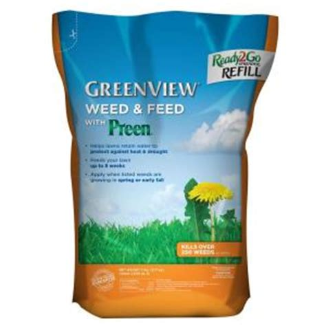 greenview 7 lb and feed with ready2go spreader