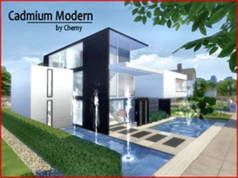 the sims 4 40x30 modern house floor plans chemy s sims 4 lots