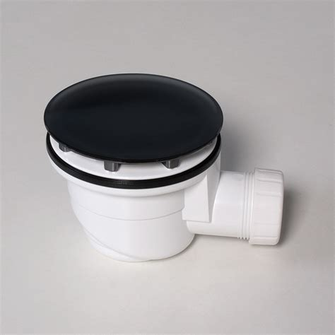 piletta scarico doccia a pavimento piletta per piatto doccia 90 mm nero kasashop opaco