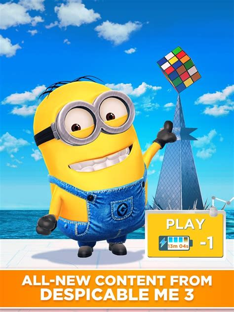 Despicable Me 10 minion despicable me official android apps on