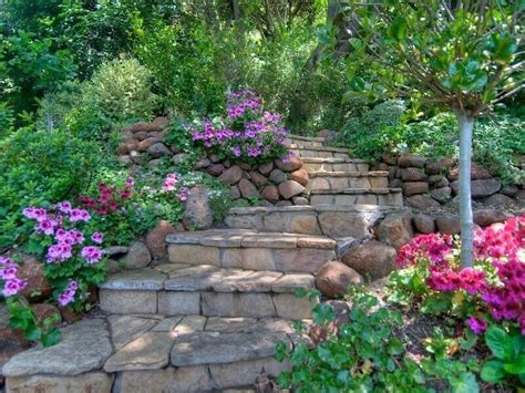 Rock Garden Steps 37 Magnificent Backyard Step Ideas