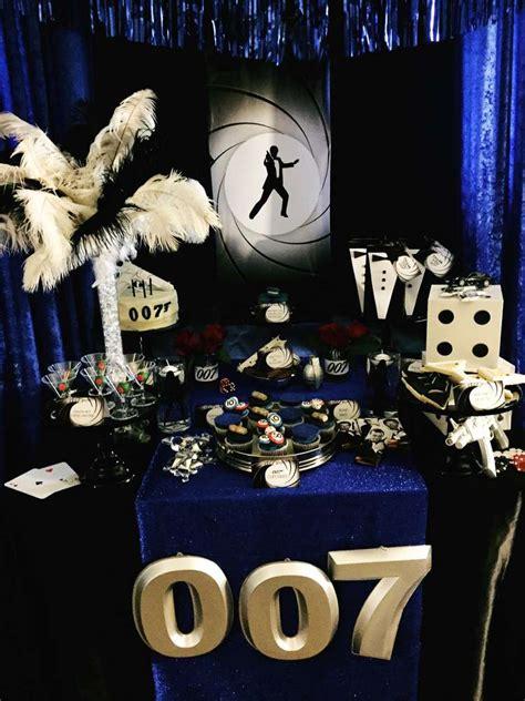 party themes james bond james bond 007 birthday party ideas james bond