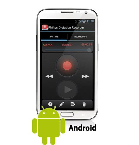 dictation for android philips lfh0747 speechexec dictation recorder app for android dictation hub license 1 year