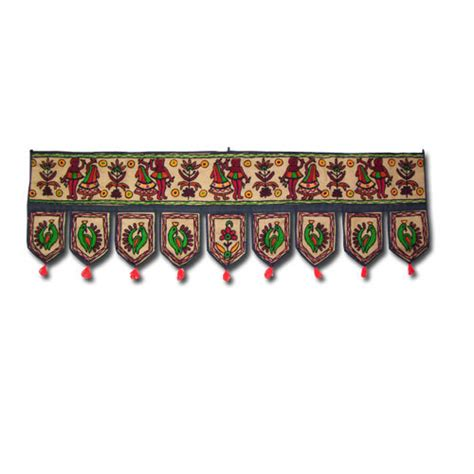 Handmade Torans - embroided handmade toran in jaipur rajasthan india
