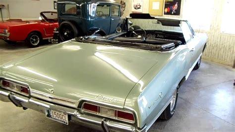 67 impala convertible 1967 chevy impala convertible 327v8 and factory air