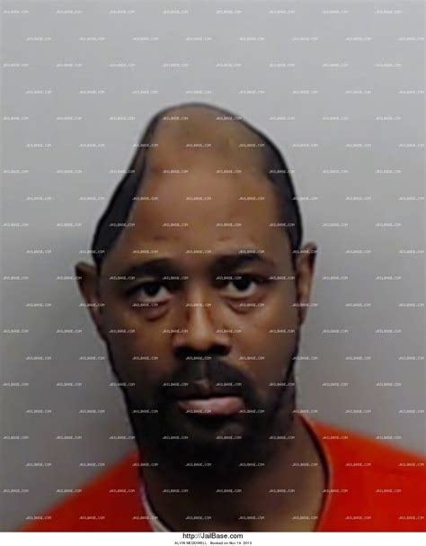 Mcdowell County Arrest Records Alvin Mcdowell Arrest History