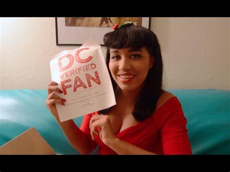 verified fan dc verified fan unboxing
