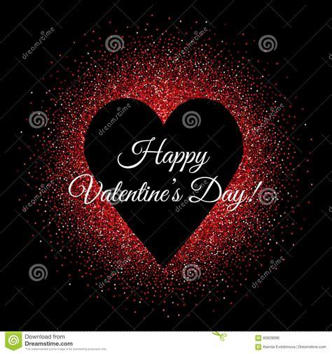 black valentines day st valentines day background banner with black shape