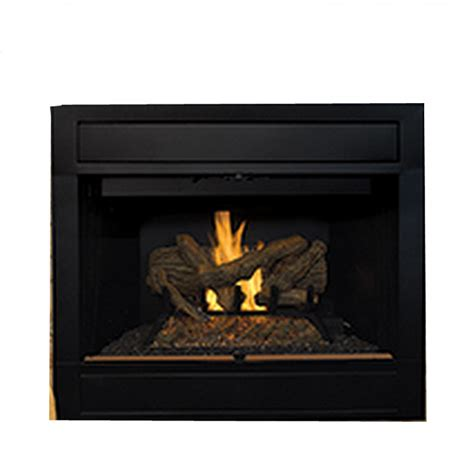 ihp superior brt4042ten b 42 quot ng fireplace white brck hrth
