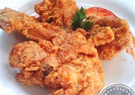 resep ayam goreng tepung krispi tahan   ribet oleh