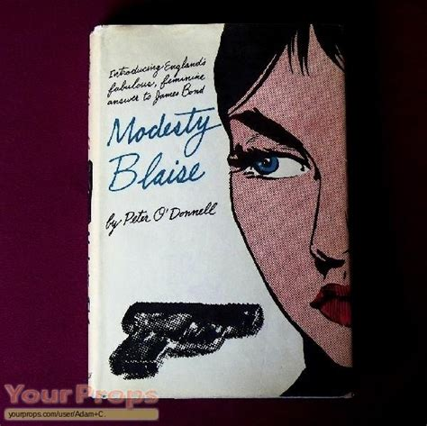 modesty blaise film quentin tarantino pulp fiction hard cover quot modesty blaise quot novel replica