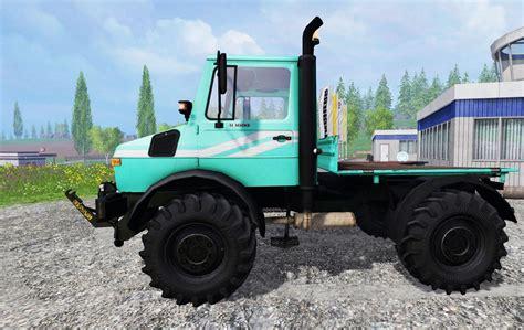 Truck Ls by Mercedes Unimog U1600 Truck Ls15 Farming Simulator