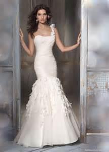 Silk trumpet style wedding dresses washington dc a wedding zone