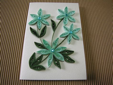 Handmade Paper Quilling - my handmade paper quilled gift card