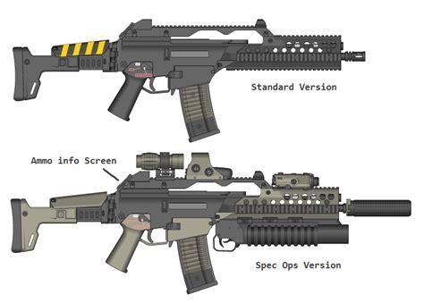 usmc section 8 colonial marine assault rifle by pedrokomando on deviantart