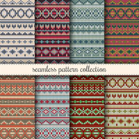 knitting pattern christmas jumper free christmas jumper seamless patterns collection knitted