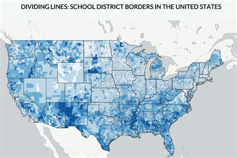 map us schools new map provides picture of student poverty and wealth in
