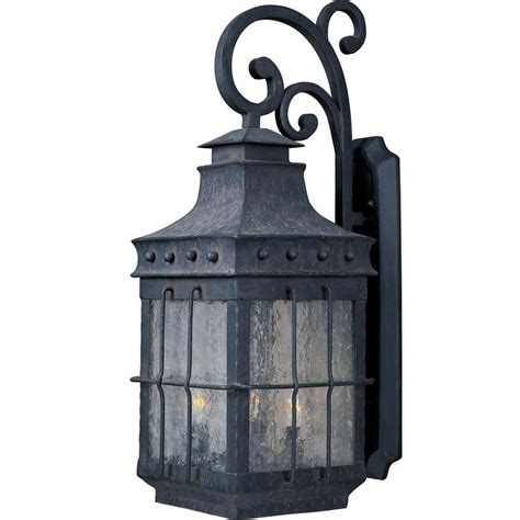 Tudor Outdoor Lighting Tudor Iron Grill Outdoor Wall Light