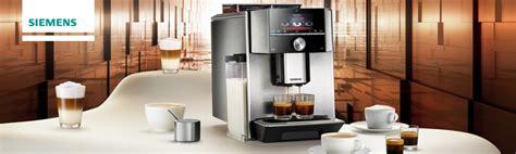 siemens espresso automaat siemens espresso volautomaten alle series op een rijtje