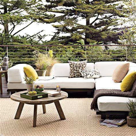 tillary outdoor sofa review tillary 174 outdoor modular seating west elm