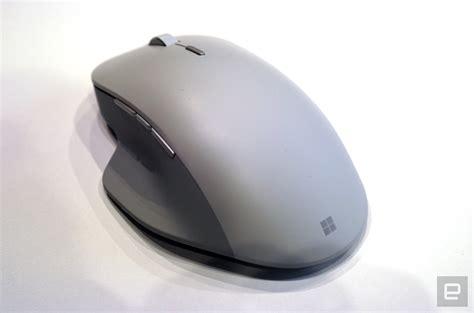 Mouse Microsoft microsoft s precision surface mouse focuses on ergonomics aivanet