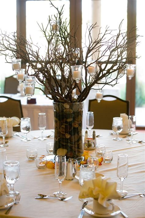 manzanita trees centerpieces manzanita tree centerpieces our wedding
