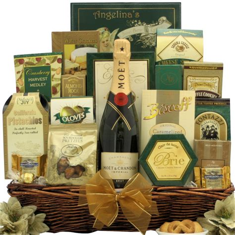 new year basket best wishes for the new year chagne gift basket