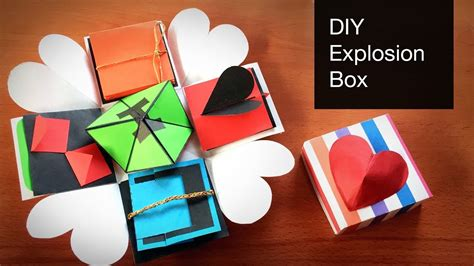 explosion box tutorial tagalog diy explosion box tutorial how to make explosion box