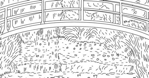 artist of the month monet monet coloring pages for kids