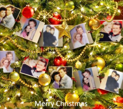 gh couples christmas general hospital 80s fan art