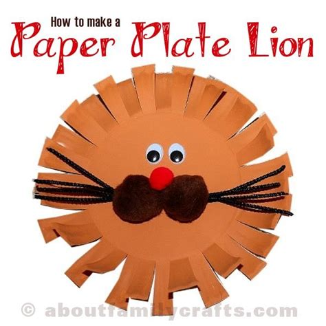 paper plate craft about family crafts