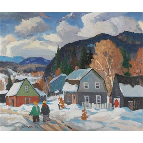 artworks of marcel fecteau canadian 1927
