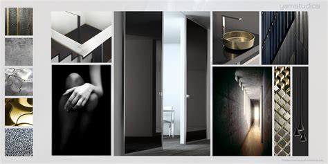 Dark Grey Bathroom Ideas yam studios mood boards interior design