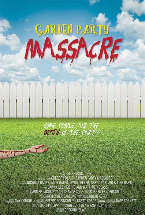Garden party massacre teaser trailer horrorphilia