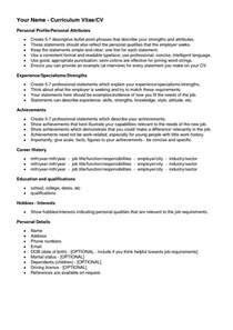 Resume Personal Interests Exles by Interests On A Resume