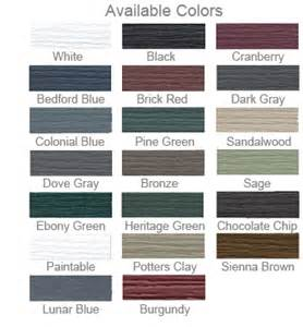 shutter colors custom country style vinyl shutters