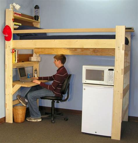 College Loft Beds With Desk by 25 Best Ideas About Loft Beds On