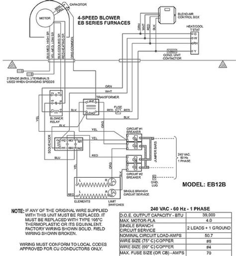 eb15b instalation coleman air handler eb15b