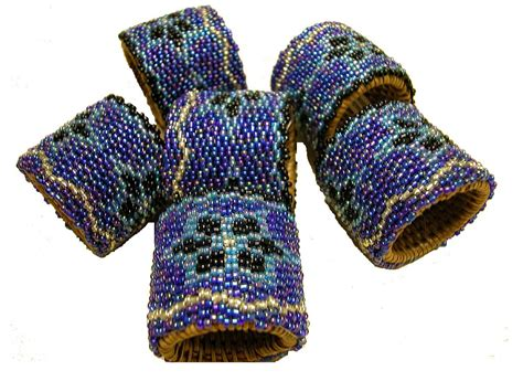 beaded serviette rings beaded napkin rings from indonesia fair trade products