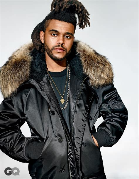 what is up with the weeknds hairdo the weeknd talks kanye west music drugs and joe