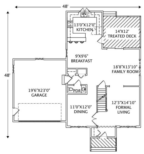 house plan 110 00381 traditional traditional home with 3 bedrms 3024 sq ft floor plan