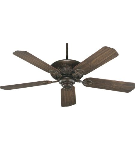 Chateau Ceiling Fan by Quorum 78525 88 Chateaux 52 Inch Corsican Gold With