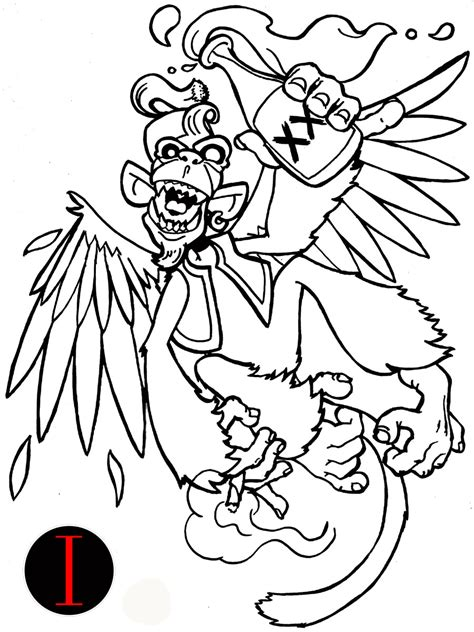 for your own tattoo drunken monkey tattoo design tattoomagz