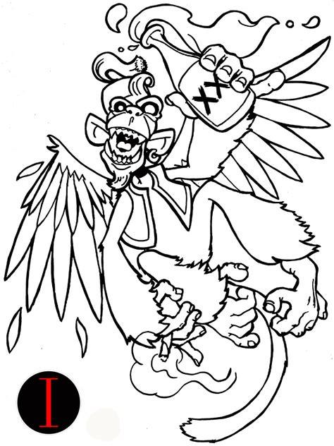 drunken monkey tattoo for your own drunken monkey design tattoomagz