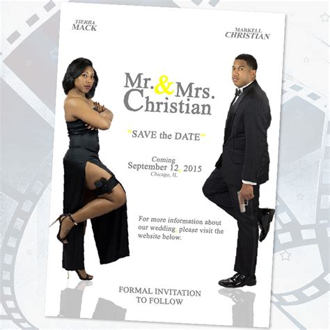 Inspiration Create Your Own Save The Date Truly Engaging Wedding Bloginspiration Create Your Mr And Mrs Smith Save The Date Template