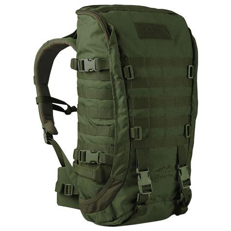 one rucksack wisport zipperfox 40l rucksack olive green backpacks