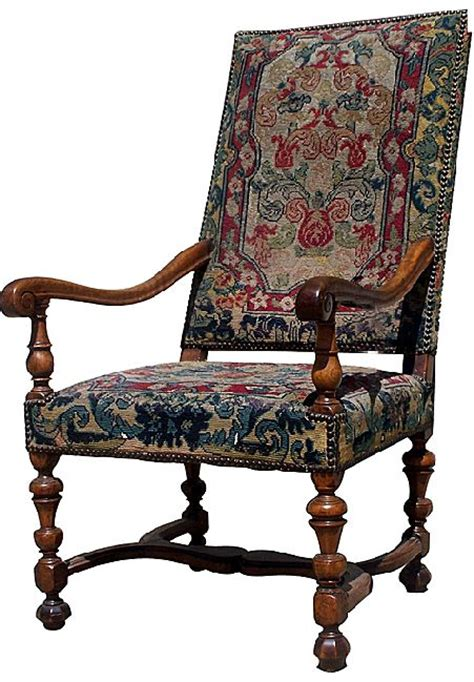 louis upholstery french walnut louis xiii arm chair from blacktulip on ruby