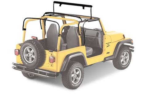 Jeep Sunrider Soft Top 1997 2002 Jeep Wrangler Soft Tops Bestop 51699 37