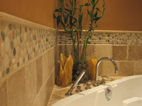 bathroom pebble tiles island pebble bathroom design modern tile